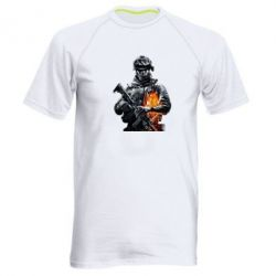 Мужская спортивная футболка Battlefield Warrior