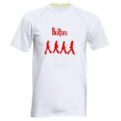 Мужская спортивная футболка Beatles Group - FatLine