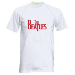 Мужская спортивная футболка Beatles - FatLine