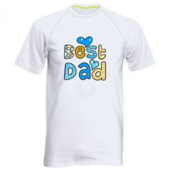 Мужская спортивная футболка Best Dad - FatLine