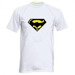 Мужская спортивная футболка БэтСупермен - FatLine