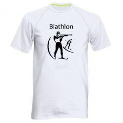 Мужская спортивная футболка Biathlon - FatLine