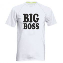 Мужская спортивная футболка Big Boss - FatLine