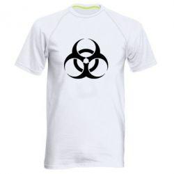 Мужская спортивная футболка biohazard - FatLine