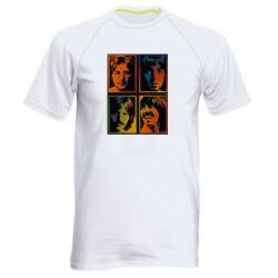 Мужская спортивная футболка Битлы - FatLine