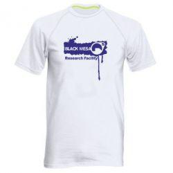 Мужская спортивная футболка Black Mesa - FatLine