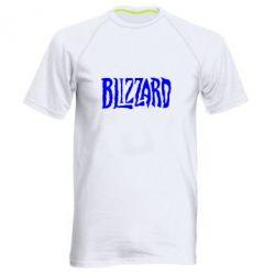 Мужская спортивная футболка Blizzard Logo - FatLine