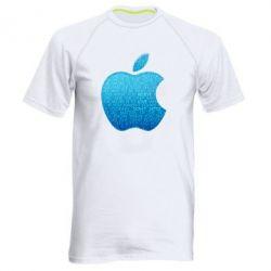 Мужская спортивная футболка Blue Apple - FatLine