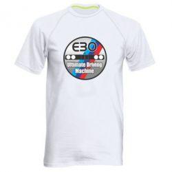 Мужская спортивная футболка BMW E30 Ultimate Driving Machine - FatLine