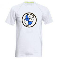 Мужская спортивная футболка BMW is Life - FatLine