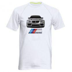 Мужская спортивная футболка BMW M Power Car - FatLine