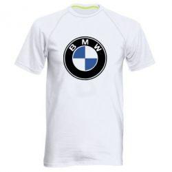 Мужская спортивная футболка BMW - FatLine