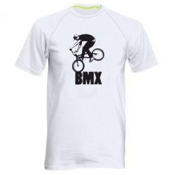 Мужская спортивная футболка Bmx Boy - FatLine