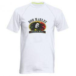 Мужская спортивная футболка Bob Marley A Tribute To Freedom - FatLine