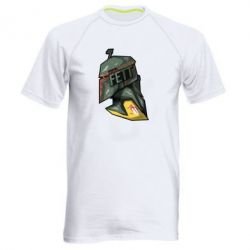 Мужская спортивная футболка Boba Fett - FatLine