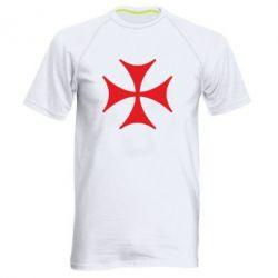 Мужская спортивная футболка Болнисский крест - FatLine