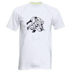 Мужская спортивная футболка Борцы - FatLine