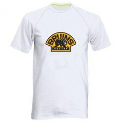Мужская спортивная футболка Boston Bruins - FatLine
