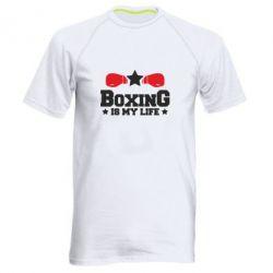 Чоловіча спортивна футболка Boxing is my life