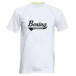 Мужская спортивная футболка Boxing Warrior