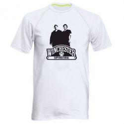 Мужская спортивная футболка Братья Винчестеры сериал - FatLine