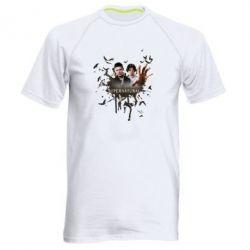 Мужская спортивная футболка Братья - FatLine