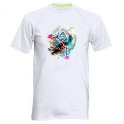 Мужская спортивная футболка Брэйк Арт