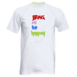 Мужская спортивная футболка Bring me the horizon - FatLine
