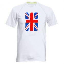 Мужская спортивная футболка Британский флаг - FatLine