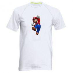 Мужская спортивная футболка Brother Mario - FatLine