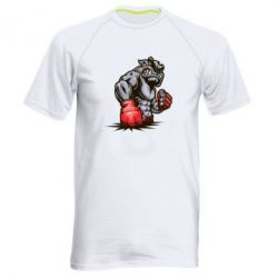 Мужская спортивная футболка Bulldog MMA - FatLine