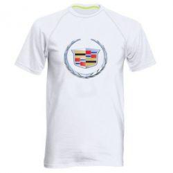 Мужская спортивная футболка Cadillac - FatLine