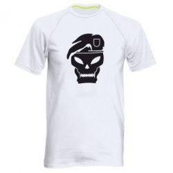 Мужская спортивная футболка Call of Duty Black Ops logo - FatLine