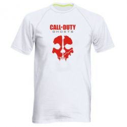 Мужская спортивная футболка Call of Duty Ghosts - FatLine