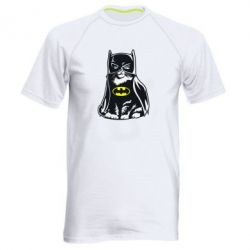 Мужская спортивная футболка Cat Batman - FatLine