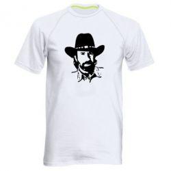 Мужская спортивная футболка Чак Норис - FatLine