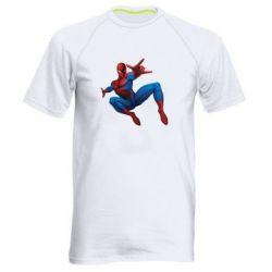 Мужская спортивная футболка Человек Паук - FatLine