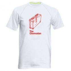 Мужская спортивная футболка Чемодан Logo - FatLine