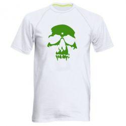 Мужская спортивная футболка Череп - FatLine
