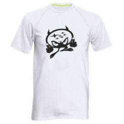 Мужская спортивная футболка Чертик Subaru - FatLine