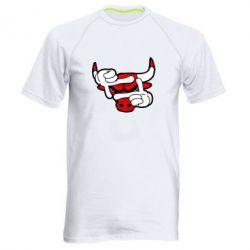 Мужская спортивная футболка Chicago Bulls бык - FatLine