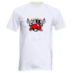 Мужская спортивная футболка Чикаго Буллз - FatLine
