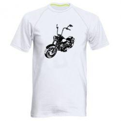 Мужская спортивная футболка Чопер - FatLine