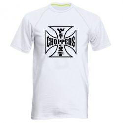 Мужская спортивная футболка Choppers - FatLine