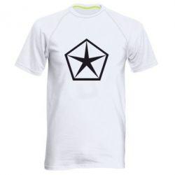 Мужская спортивная футболка Chrysler Star - FatLine