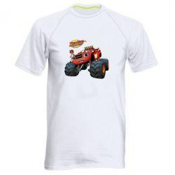 Купить Мужская спортивная футболка Чудо-машинки. Вспыш., FatLine
