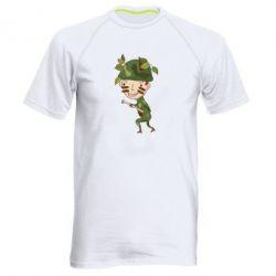 Мужская спортивная футболка Cміливий солдат - FatLine