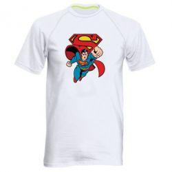 Мужская спортивная футболка Comics Superman - FatLine