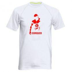 Мужская спортивная футболка Conquer - FatLine