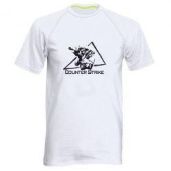 Мужская спортивная футболка Counter Strike Gamer - FatLine